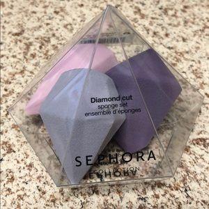 SEPHORA Diamond Cut Sponge Set